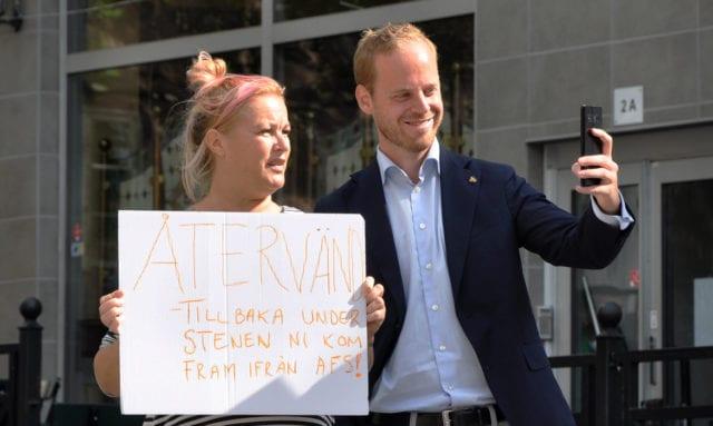 Svenska kyrkan förbjuder Alternativ för Sverige att kandidera