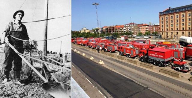 Bertil Boo och de polska brandmännen