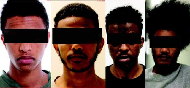 Fyra eritreaner åtalas för gruppvåldtäkt av utvecklingsstörd kvinna