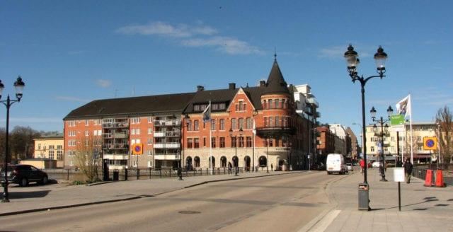 Man ihjälskjuten i Eskilstuna