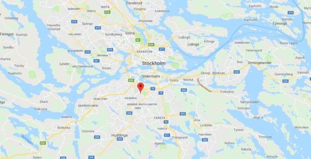 Kvinna överfallen och våldtagen i södra Stockholm