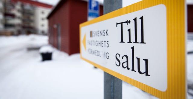 Ekonomer: Sveriges bostadsmarknad världens mest riskabla