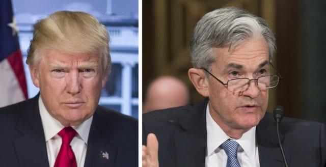 Trump: Federal Reserve är det största hotet mot mig