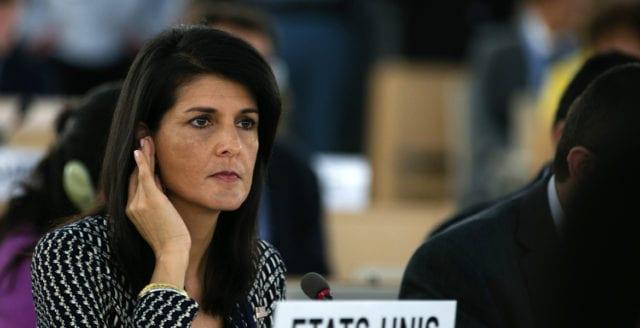 Nikki Haley avgår som USA:s FN-ambassadör