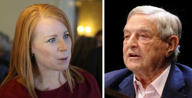 Regeringsbildningen – en seger för Soros och hans springflicka Lööf