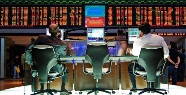 Stora fall på världens börser