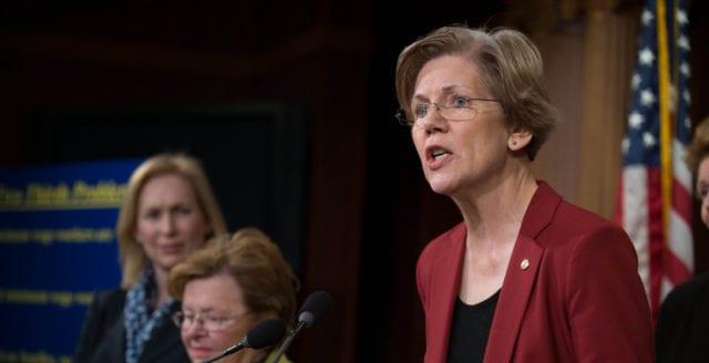 Elizabeth Warren ställer upp i presidentvalet år 2020