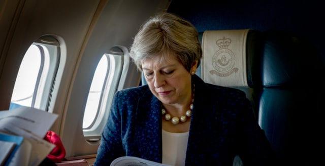 Nederlag för Theresa Mays Brexit-deal i parlamentet
