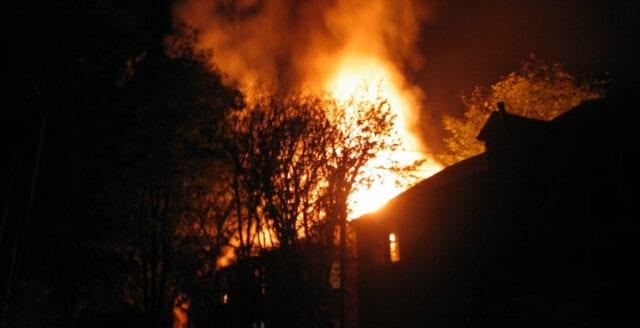 Mordbrand på HVB-hem i Ronneby