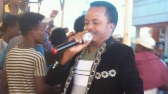 Etiopisk sångare dödad av förlupen kula under uppträdande