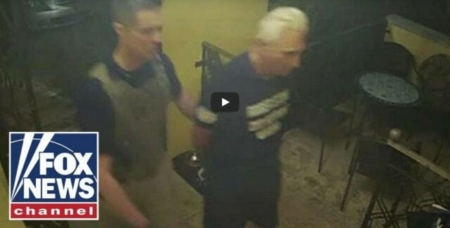 CNN var på plats en timme innan FBI:s tillslag mot Roger Stone