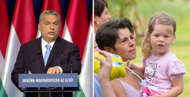 Orbán lanserar skattereform för att rädda ungerska befolkningen från utbyte