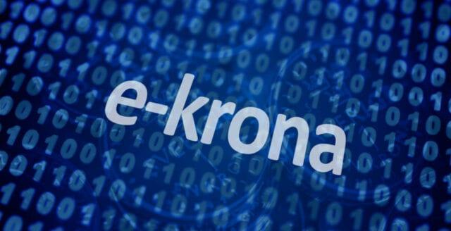 Digitala e-kronor lanseras sannolikt i Sverige av Riksbanken