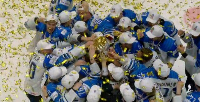 Dunderskräll av de finska lejonen i hockey-VM