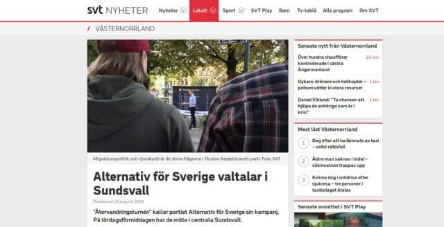 """SVT backar efter oklar beteckning om """"högerextremt"""" parti"""