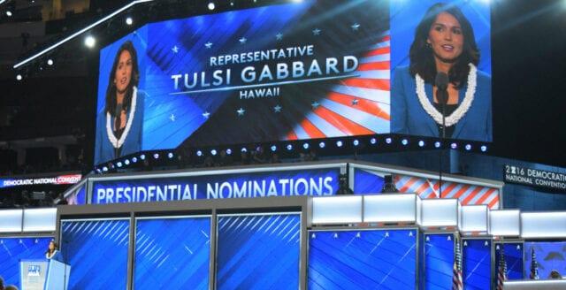Är Tulsi Gabbard demokraternas egen Donald Trump?