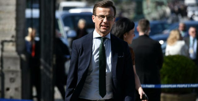 Ulf Kristersson deltar vid årets Bilderbergmöte