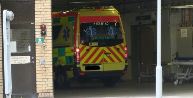 Antalet skottskadade på svenska sjukhus ökar stort