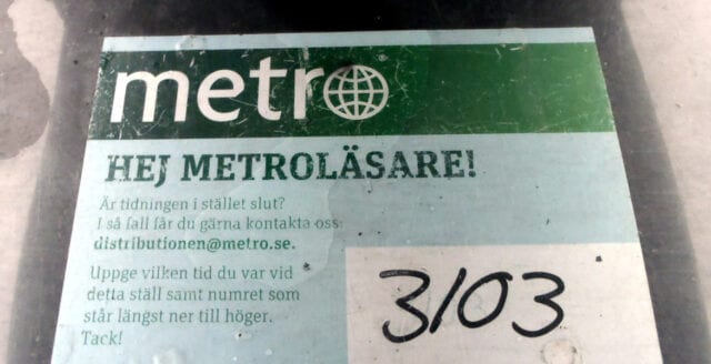 Metro sparkar alla sina journalister