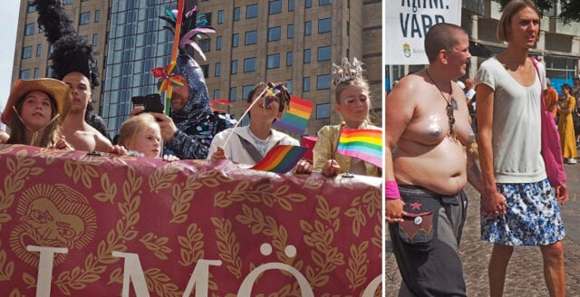 Barn, sexualisering och avlägsnad predikant under Malmö Pride