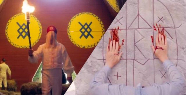 Svenskt midsommarfirande och fornnordisk mytologi blir grotesk judisk skräckfilm
