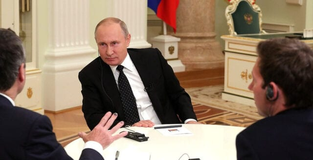 """Putin: """"Västliberalismen står i konflikt med befolkningarnas intressen"""""""