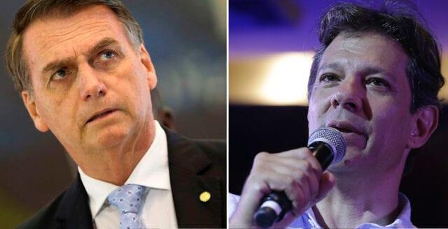 Google manipulerade sökresultat på begäran av Bolsonaros motståndare Haddad
