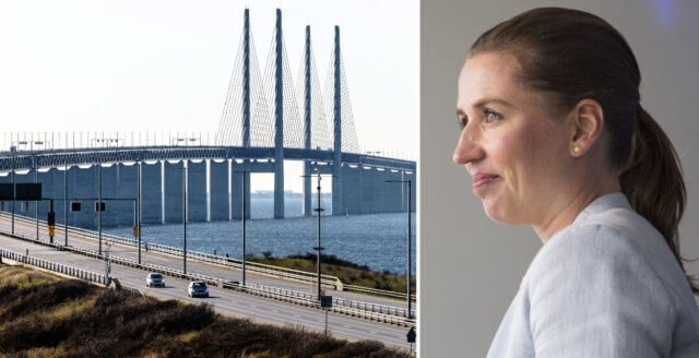 Danmark vill införa gränskontroller mot Sverige