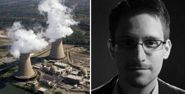 Snowden hackade kärnkraftslaboratorium som tonåring