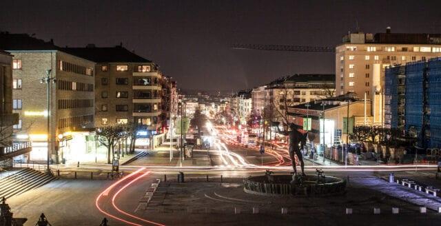 Man knivhuggen till döds i Göteborg