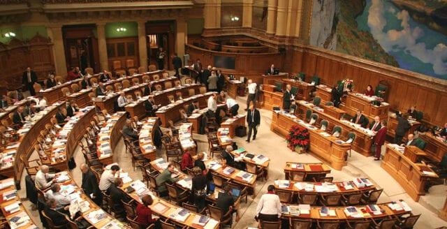 Vänstervindar i parlamentsvalet i Schweiz