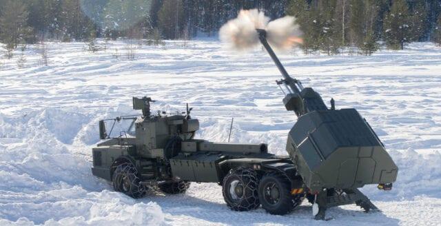 Sverige säljer krigsmateriel för 300 miljoner till Turkiet