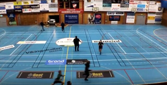 Terrorbrott kan ligga bakom attacken mot idrottshallen i Märsta