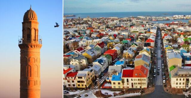Island får 13 meter hög minaret