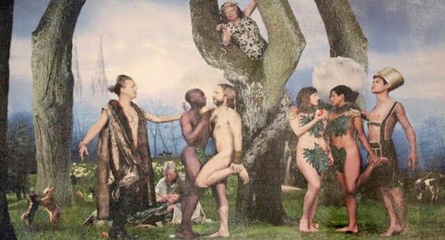 Malmökyrka firade advent med homoerotisk målning