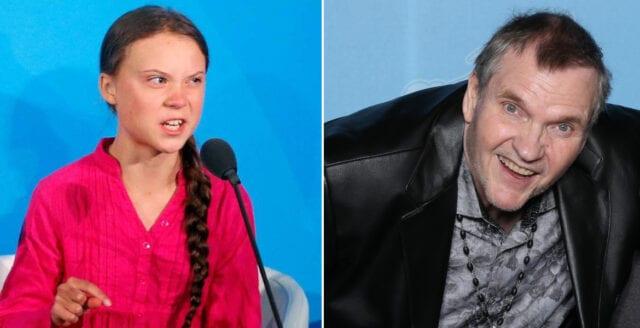 Meat Loaf: Greta Thunberg har hjärntvättats