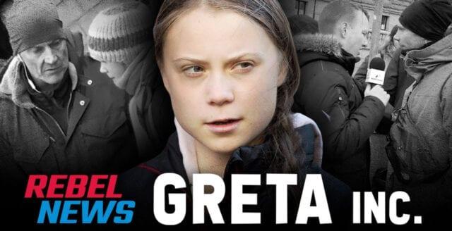 Gretas privata säkerhetsvakter knuffade iväg granskande journalist