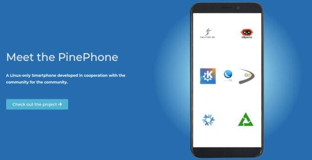 Pine64 lanserar Linux-telefon