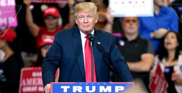 Rekordstöd för Trump