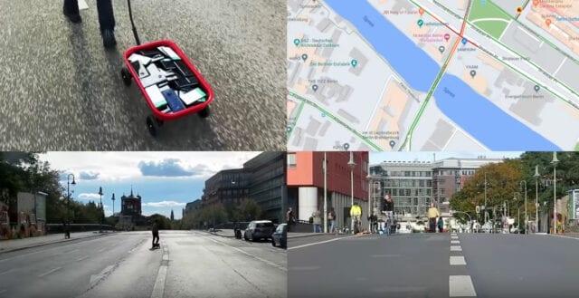 Konstnär skapade trafikkaos med Google Maps