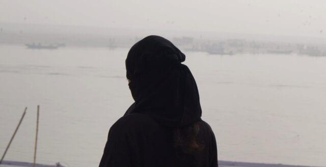 IS-kvinna på flykt i Sverige