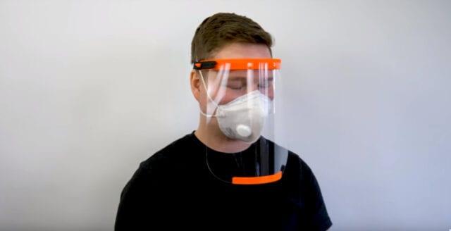 Fritt fram att använda 3D-printad skyddsutrustning