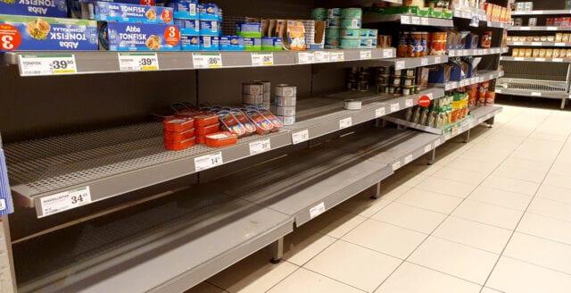 Finland har fått förfrågningar om matleveranser till Sverige
