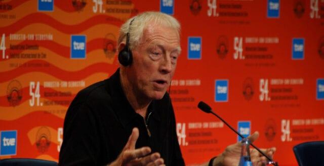 Filmlegendaren Max von Sydow är död