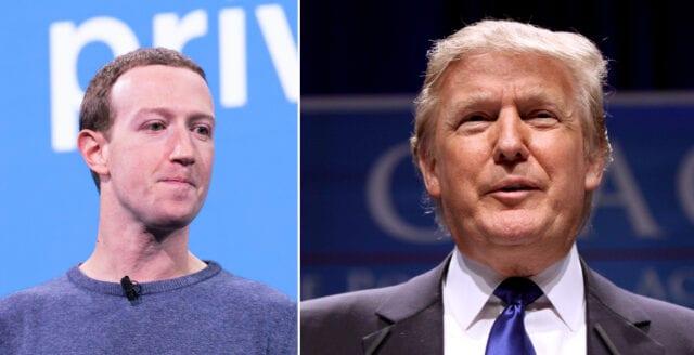 Trump-annonser censureras efter liberala påtryckningar