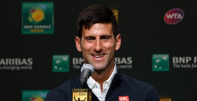 Novak Djokovic tar ställning mot tvångsvaccinationer