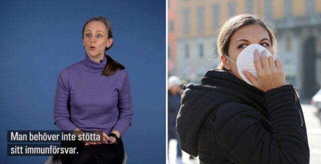 SVT-expert: Lönlöst att förstärka immunförsvaret
