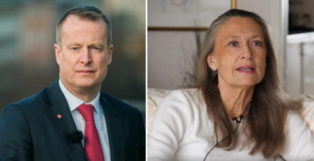 S-ministern anklagade oroliga svenskar för att vara ryska botar
