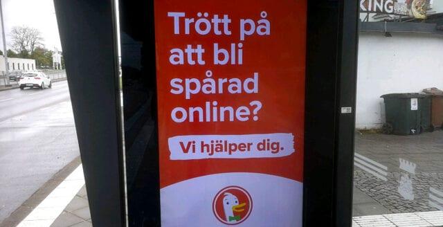 Integritetsvänlig sökmotor i svensk reklamkampanj