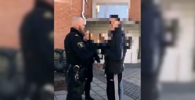 Afghanska migranter kastade ägg på polisen i Jämtland